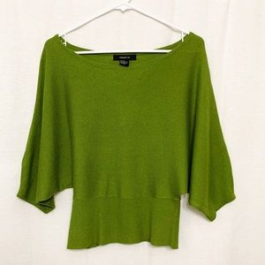 Arden B Green sweater Size XS.